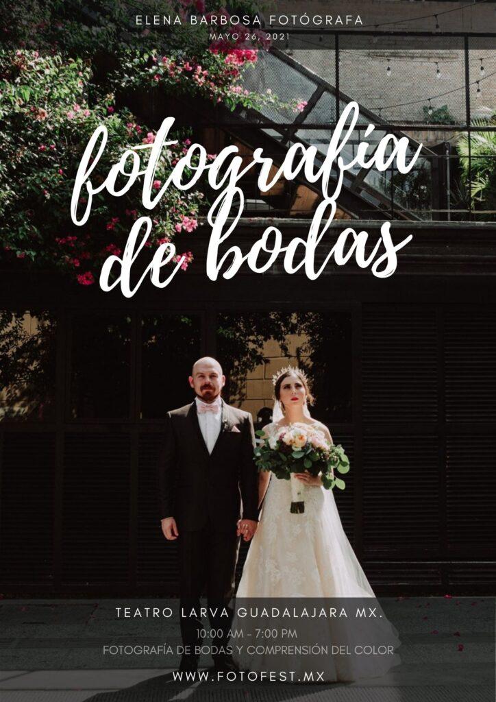 Fotografía de Bodas y comprensión del color en la fotografía. Taller con Elena Barbosa.